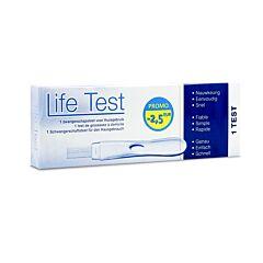 Lifetest Zwangerschapstest 1 Stuk Promo - €2,50