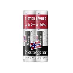 Neutrogena Lippenbalsem SPF20 Duopack Promo 2e aan - 50%