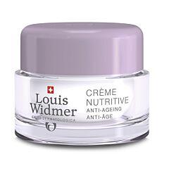 Louis Widmer Crème Nutritive Zonder Parfum 50ml