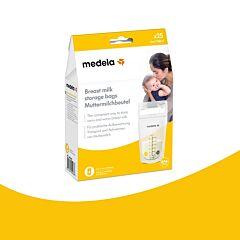 Medela Zakjes Voor Moedermelk 180ml 25