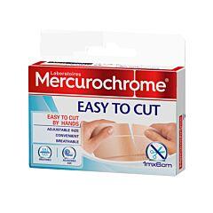 Mercurochrome Met De Hand Scheurbare Pleister - 1mx6cm - 1 Rol