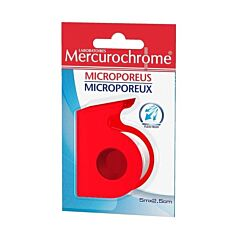 Mercurochrome Microporeuse Pleister 5mx2,5cm 1 Rol