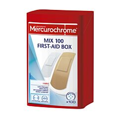 Mercurochrome Mix First-aid Box 100 Stuks