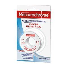 Mercurochrome Waterafstotende Pleister 7mx2,5cm 1 Rol
