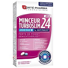 Forté Pharma Turboslim 24 Dag/Nacht 45+ 28 Tabletten
