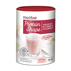 Modifast Protein Shape Milkshake Aardbei 540g
