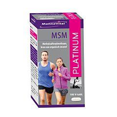 MannaVital MSM Platinum 180 Tabletten