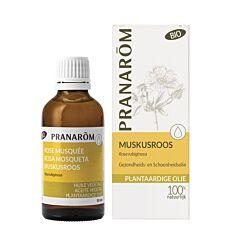 Pranarôm Muskusroos Bio Plantaardige Olie 50ml