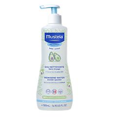 Mustela Bébé Reinigend Water Zonder Spoelen - Normale Huid 500ml