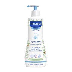 Mustela Bébé Toiletmelk Zonder Spoelen - Normale Huid 500ml