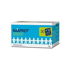 Naaprep Fysiologisch Water 5ml Promo 30+10 Ampoules GRATIS