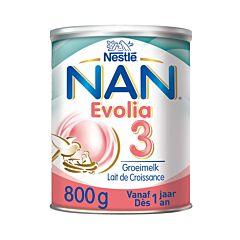 Nan Optipro Evolia 3 Groeimelk 1+Jaar 800g NF