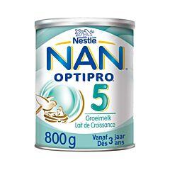 Nan Optipro 5 Groeimelk 3+ Jaar  800g