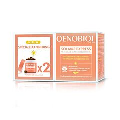 Oenobiol Solaire Express Promo 2x15 Capsules