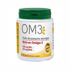 OM3 Visolie 120 Capsules