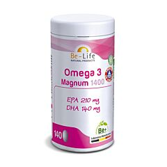 Be-Life Omega 3 Magnum 1400 140 Capsules
