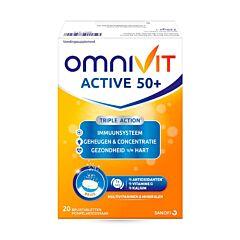 Omnivit Active 50+ 20 Bruistabletten