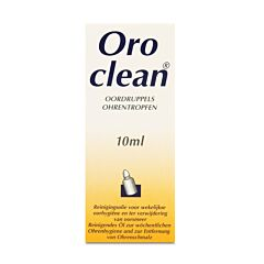 Oroclean Reinigende Oordruppels 10ml