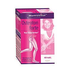 MannaVital Osteoton Forte 60 Tabletten
