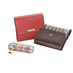 Pilbox Maxi 7 Dagen Karmijnkleur