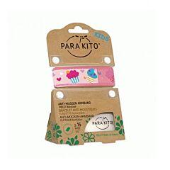 Parakito Kids Cupcakes Armband + 2 Vullingen