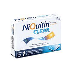 NiQuitin Clear 21mg 14 Pleisters