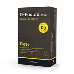D-Fusion Pearl Forte 2000IE 84 Capsules