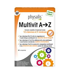 Physalis Multivit A-z Comp 45 Nf