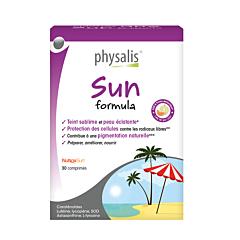 Physalis Sun Formula Tabl 30