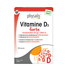 Physalis Vitamine D3 Caps 100