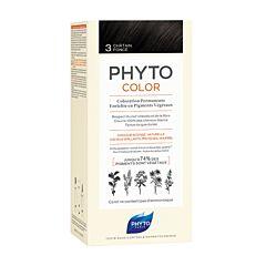 Phytocolor Haarkleuring N°3 Donker Kastanjebruin 1 Stuk
