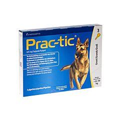 Prac-tic Spot-on Grote Hond 22-50kg Anti-Vlooien/Teken 3 Pipetten
