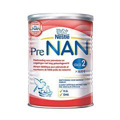 Pre-Nan Stage 2 Dieetvoeding Laag Geboortegewicht Prematuren/ Zuigeling Poeder 400g