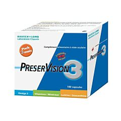 Preservision 3 NF 180 Capsules