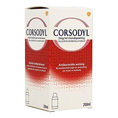 Corsodyl Mondbad 200ml