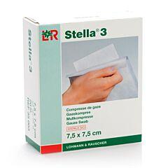 Stella 3 7,5x7,5cm 20 Kompressen