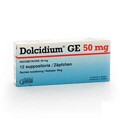 Dolcidium  50mg 12 Zetpillen
