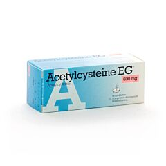 Acetylcysteine EG 600mg 10 Bruistabletten