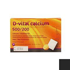 D Vital Calcium 500/200 Sinaas 40 Zakjes