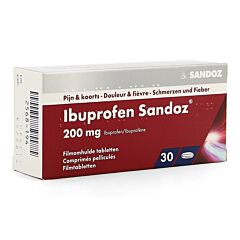 Ibuprofen Sandoz 200mg 30 Tabletten