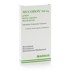 Mucodox 300mg 14 Capsules