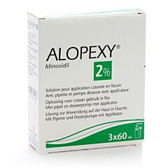 Alopexy 2% Liquid 3x60ml