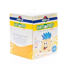Ortopad Happy Medium Oogpleister 50 Stuks