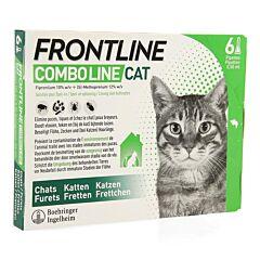 Frontline Combo Line Kat Vlooien/ Teken 6x0,5ml