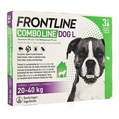 Frontline Combo Line Hond L 20-40kg Vlooien/ Teken 3x2,68ml