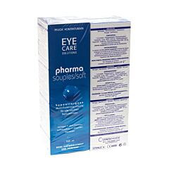 Eye Care Pharma Soft Duo Pack Oplossing Onderhoud 2x360ml
