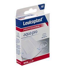Leukoplast Aqua Professional 38x63mm 10 Stuks