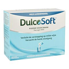 DulcoSoft Mild Laxeermiddel 20 Poederzakjes