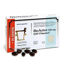 Pharma Nord Bio Active Q10 100mg 60+20 Capsules