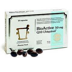 Pharma Nord Bio Active Q10 50mg 20 Capsules